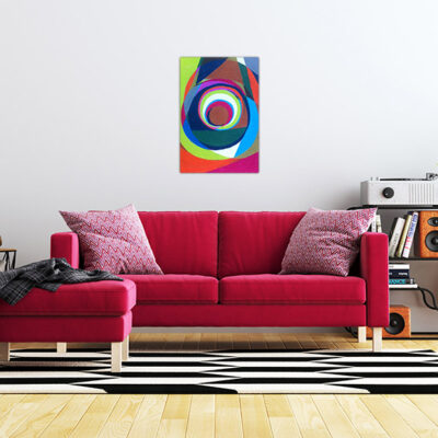 Interior Living Wall Background Mockup with Sofa Furniture and D